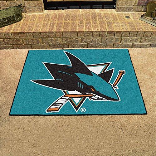 Fan Mats San Jose Sharks All Star Mat ()