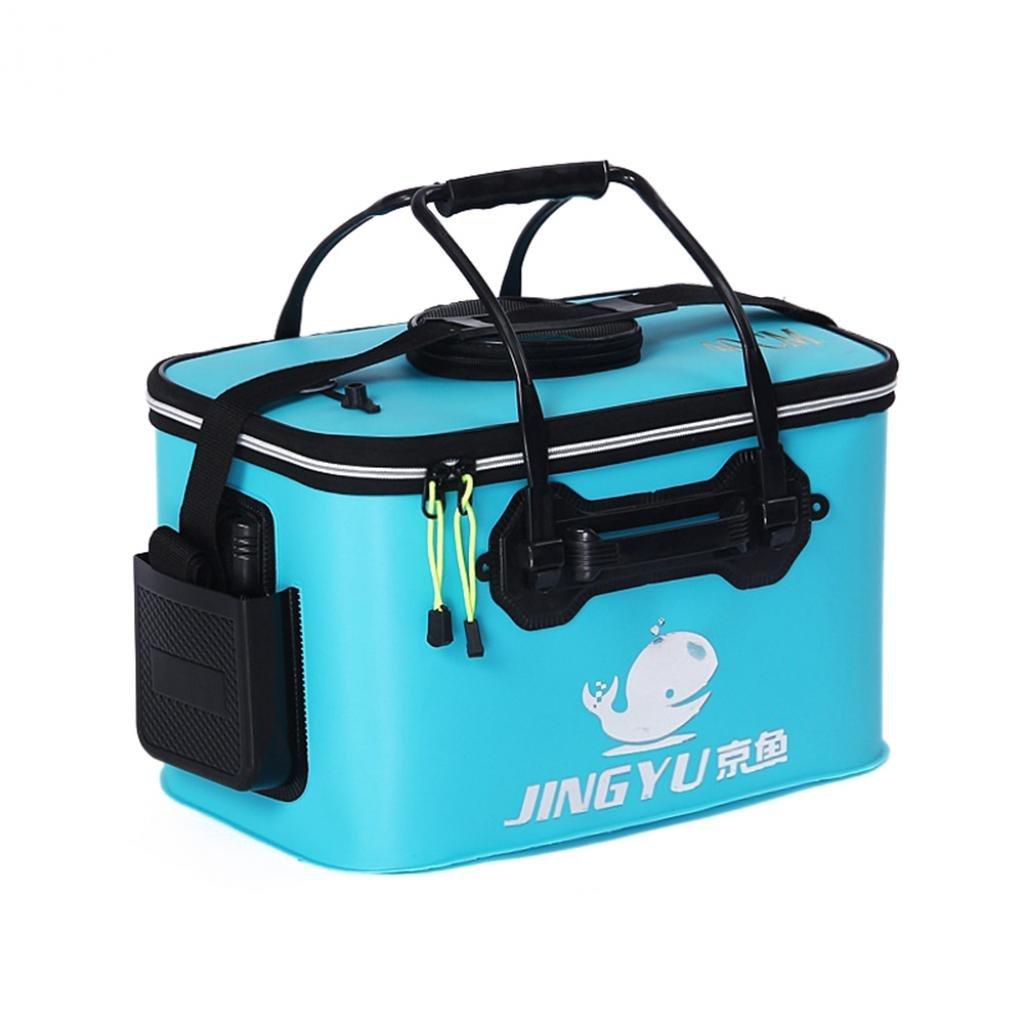 Yeshi pesca secchio pieghevole secchio pieghevole Water Bucket Outdoor barile portatile per pesca e campeggio