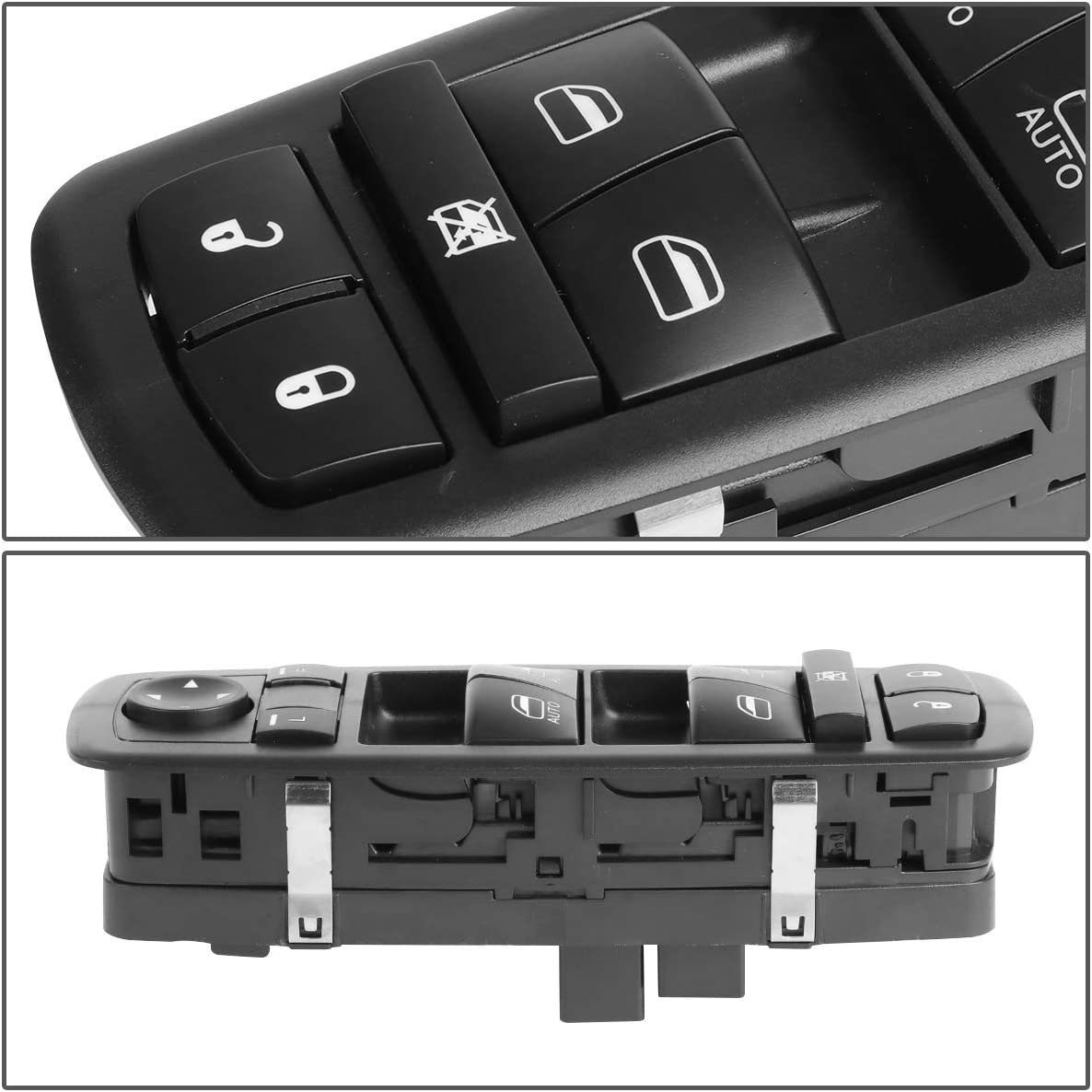 Black DNA MOTORING WSW-037 Factory Style Driver Side Master Power Window Lifter Switch For 2005-2017 VOLKSWAGEN WSW-040 WSW-040 WSW-040 WSW-040