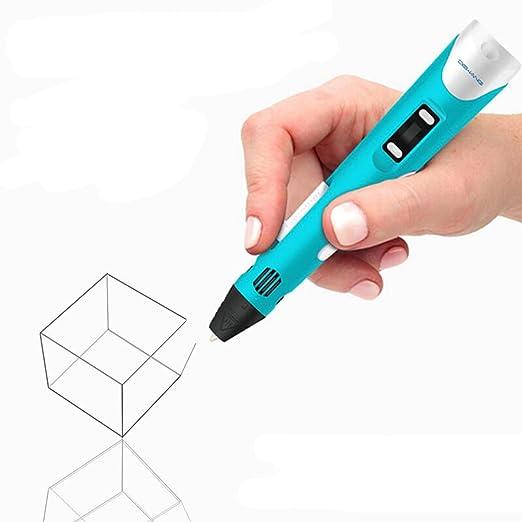JEssie Set de bolígrafo 3D con pantalla LCD, bolígrafo de ...
