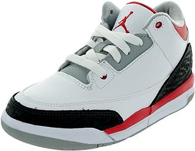 Amazon.com | Jordan 3 Retro (Ps) Boys