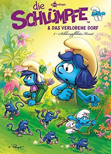 Die Schlümpfe und das verlorene Dorf. Band 2: Schlumpfblütes Verrat Gebundenes Buch – 1. November 2018 Peyo Splitter-Verlag 395839969X Comic