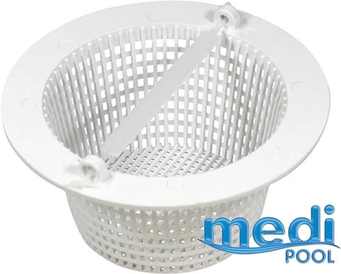 mediPOOL – Skimmer cesta para piscina incorporado – AR500: Amazon ...