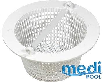 mediPOOL - Skimmer cesta para piscina incorporado - AR500: Amazon.es: Jardín