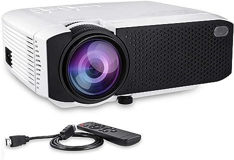 Proyector de Cine en casa LCD Full HD 1080P, Contraste 1000: 1 con ...