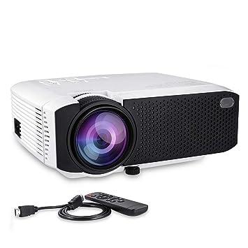 Proyector de Cine en casa LCD Full HD 1080P, Contraste 1000 ...