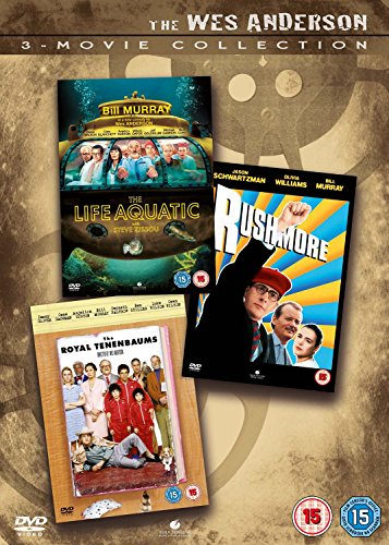 The Wes Anderson 3 Movie Collection