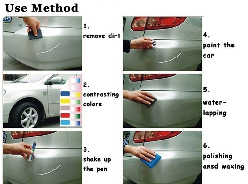 Motorcycle Accessories & Parts Car Paint Pen Auto Paint Pen Car Scratch Repair Pen Aluminum Pipe To Suit The PeopleS Convenience