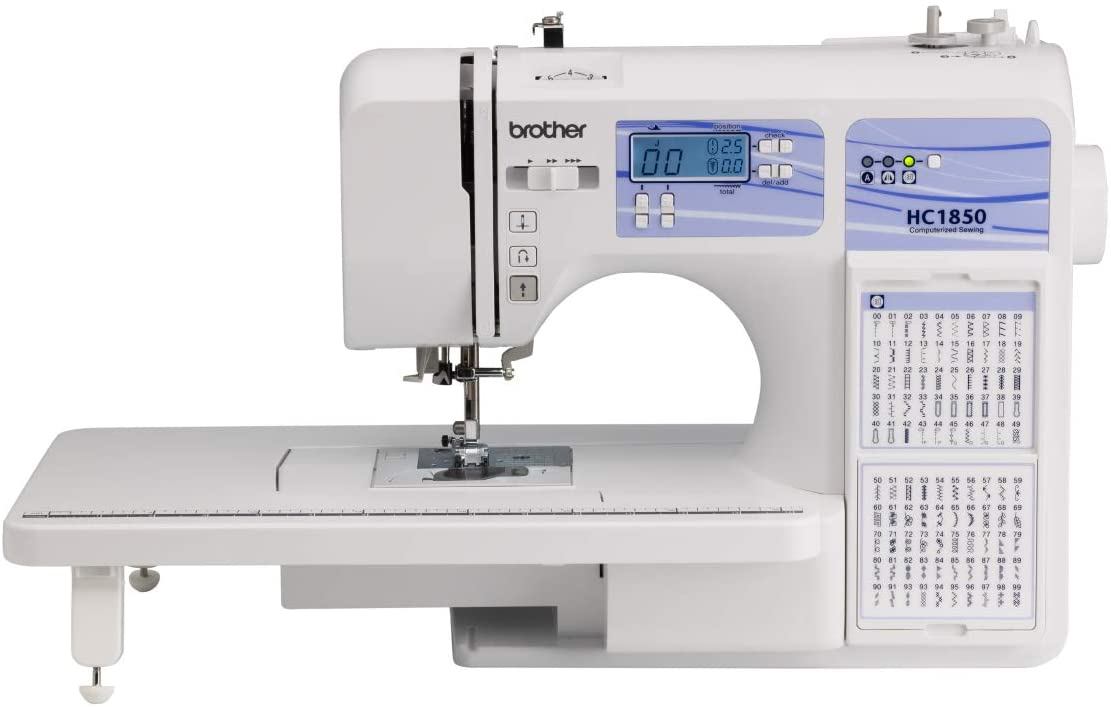 Customer's choice: Brother Quilting Machine HC 1850