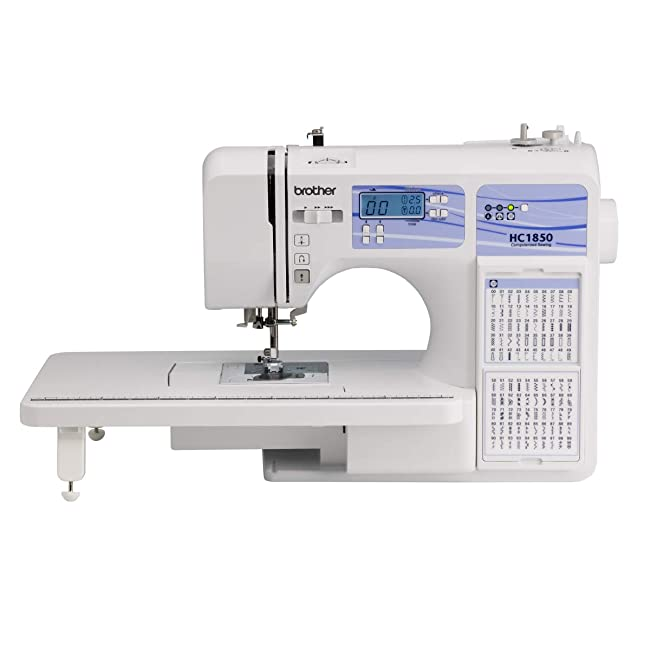 Brother Computerized Sewing and Quilting Machine HC1850 Review