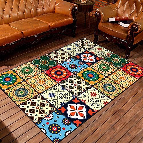 Price comparison product image Modern Geometric Carpets Home Mat Room Area Rug Floor Mat for Living Room Bedroom Large Trellis Design Idoormat, C, 200×300Cm