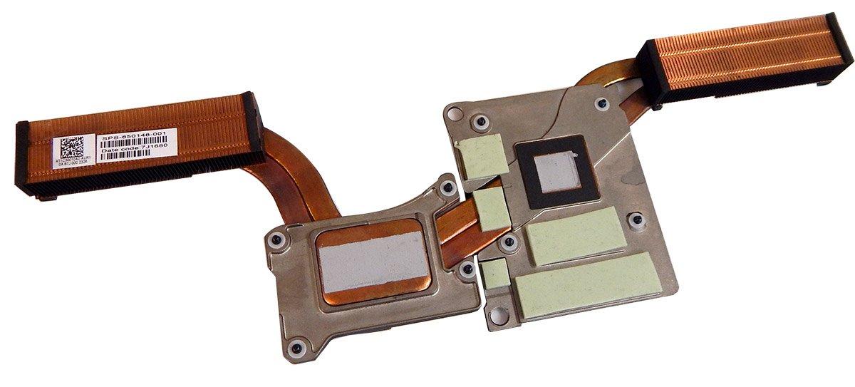 HP Zbook 15 G3 nVidia Thermal Heatsink 850148-001 72A05232075 APW50-DIS-NV