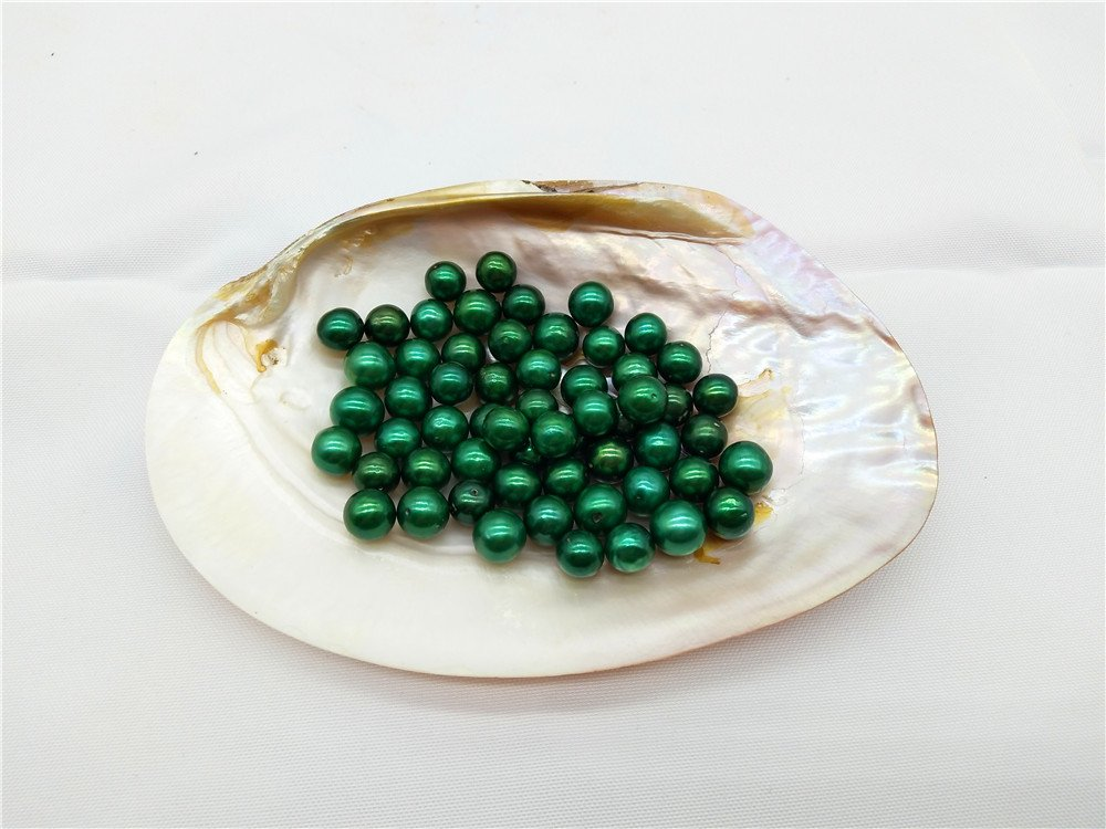 2PCS Colored Edison Loose Pearls,Huge Pearls,Large Pearls,Edison Pearls (Color6)