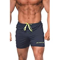 Jed North Shorts ajustés pour Hommes Bodybuilding Workout Gym Running Tight Lifting Shorts Pants