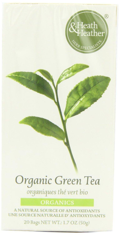 Amazon com: (2 Pack) - Heath And Heather - Organic Green Tea