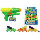 Water blaster soaker top loading park garden pool beach fun play (colours may vary)
