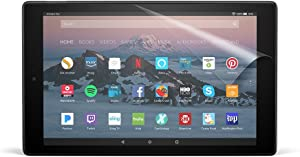 NuPro Clear Screen Protector for Amazon Fire HD 10 Tablet (7th & 9th Generations- 2017 & 2019 releases) (2-Pack)