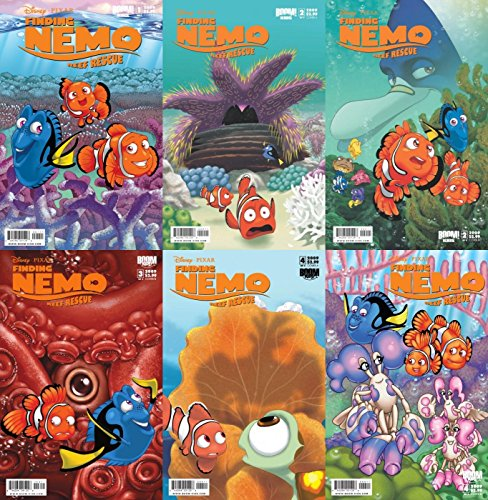 Finding 2 (Finding Nemo: Reef Rescue #1-4 (2009) Limited Series Boom Comics - 6 Comics)
