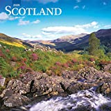 Scotland 2020 12 x 12 Inch Monthly Square Wall Calendar, UK United Kingdom Scenic