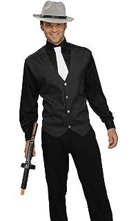 Amazoncom California Costumes Mens Gangster Costume Clothing