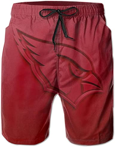 Baseball Laces Mens Popular Beach Swim Trunks Quick Dry Board Shorts with Mesh Lining