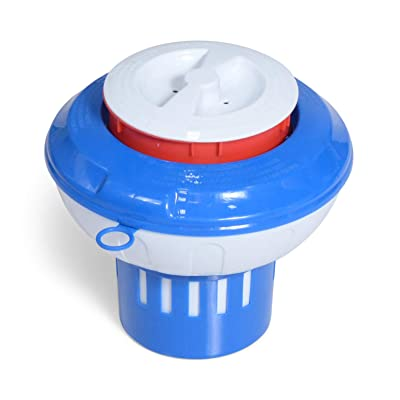 Milliard Chlorine Floater with -Red Empty Gauge- Floating Chlorinator Dispenser : Garden & Outdoor