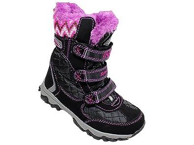 f598af8336e0 Super in Schuhe Mädchen Winterstiefel Winterschuhe Stiefel Boots Warmfutter   Amazon.de  Schuhe   Handtaschen