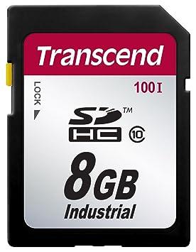Transcend TS8GSDHC100I Memoria Flash 8 GB SDHC Clase 10 SLC ...