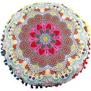 Amazon.com: Funda de almohada cover, elaco Indian Mandala ...