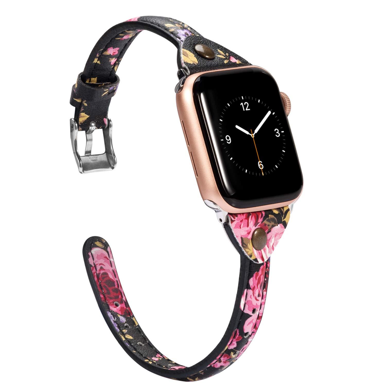 Malla Cuero para Apple Watch (42/44mm) WEARLIZER [7PNKPPH2]