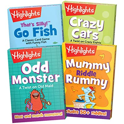Highlights Classic Card Games, Set of 4: Toys & Games