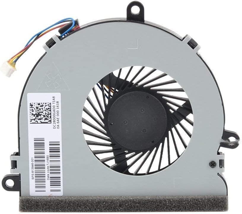 WEI AI Laptop CPU Cooling Fan for HP 15-af131dx 15-AF013CL 15-af141dx 255 250 G4 14-R TPN-C116 TPN-C125 813946-001 815237-001