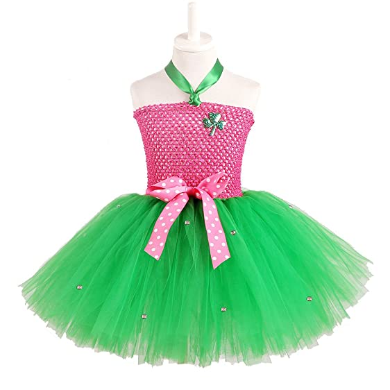 Kids Girls Tutu Dress For ST Patricku0027s Day Tulle Pink With Green Handmade Party Costumes Ireland  sc 1 st  Amazon.com & Amazon.com: Kids Girls Tutu Dress For ST Patricku0027s Day Tulle Pink ...