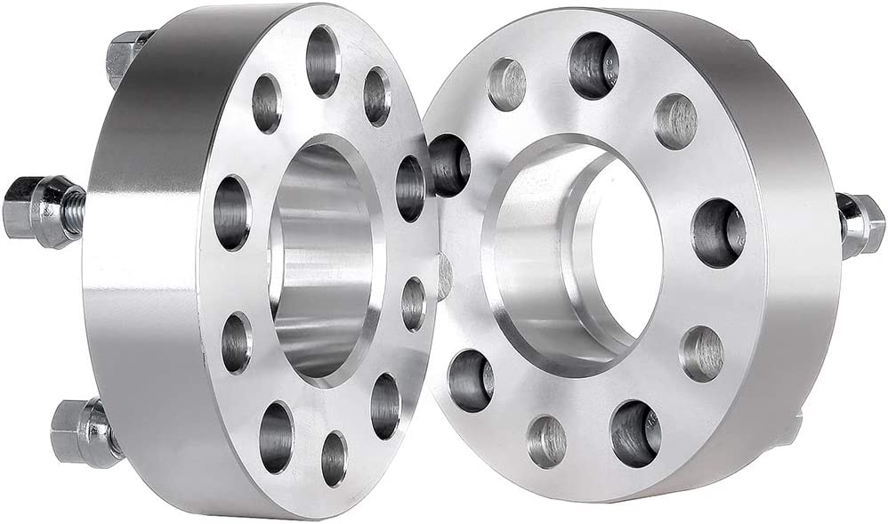 ECCPP 2X 1.5 inch Hubcentric Wheel Spacers 5x4.75 to 5x4.75 70.5mm fits for Ch-evr-olet Corvette for Ch-ev-y for Cadillac for GMC Sonoma with 12X1.5 Studs