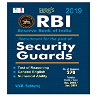 Reserve Bank of India (RBI) Security Guards Exam Books