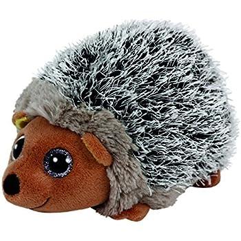 "Amazon.com: Ty Beanie Boos Spike - Brown Hedgehog 6"" by Ty"