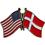 Denmark - Friendship Lapel Pin