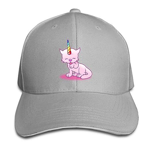 e639b5b07823c Black Dad Cap Trucker Baseball Cowboy Hats Pink Unicorn and Horn Unisex