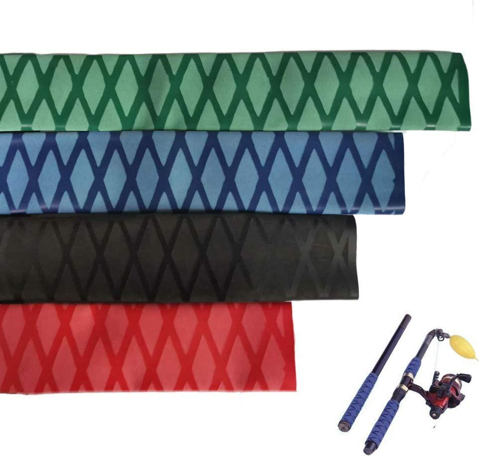 1* Non Slip Heat Shrink Tube Fishing Rod Racket Handle Grip Sleeving Wraps 1M