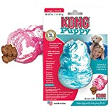 Kong Puppy Toy, Small - Assorted in Pink/Blue