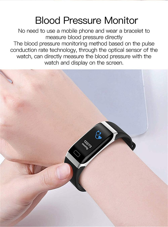 Amazon.com: Bluetooth Smart Watch Bracelet-Star_wuvi Smart Sports Watch,Waterproof Smartwatch with Fitness Tracker,Heart Rate Detection,Sedentary Reminder ...
