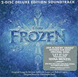Frozen 2 Disc Deluxe Edition Soundtrack by Demi Lovato, Kristen Bell, Idina Menzel, Jonathan Groff, Josh Gad, Katie Lopez, (2013-11-25)