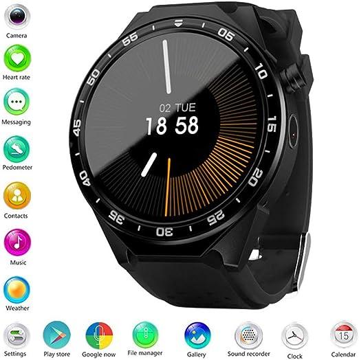 ANDE Reloj de Pulsera SmartWatch Resistente al Agua, Android Wear ...
