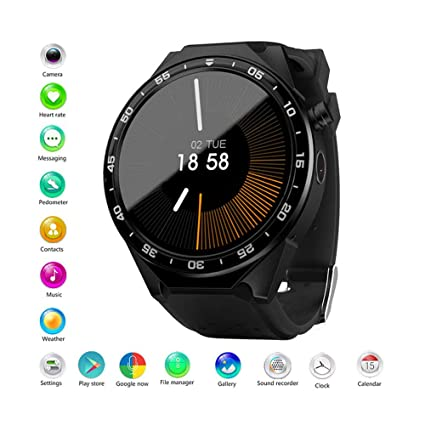 Amazon.com: ANDE Smartwatch Wrist Watch Water Resistant ...