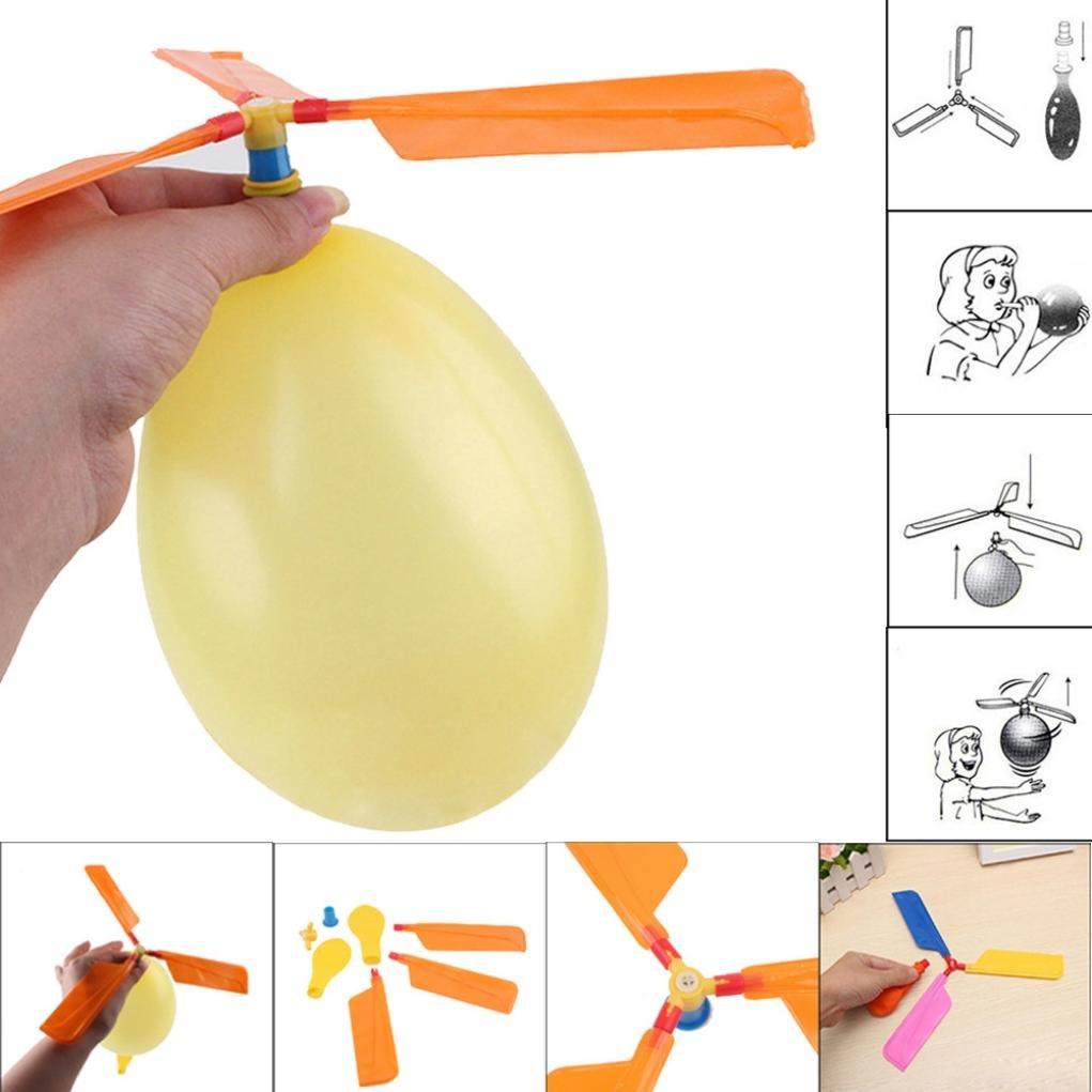 Regalo riempito borsa dell'elicottero dell'aerostato del giocattolo del bambino di compleanno del giocattolo del pallone Palloncino Giocattoli educativi Giocattoli fatti in casa (casuale, 280*280mm) SUccess