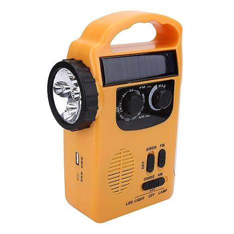 Amazon com: T-best Emergency LED Flashlight Camping Solar