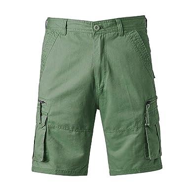 Pantalones Cortos Hombre, Verano Casual Moda Trabajo Corta ...