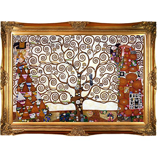 gustav-klimt-tree-of-life-stoclet-frieze-framed-oil-painting