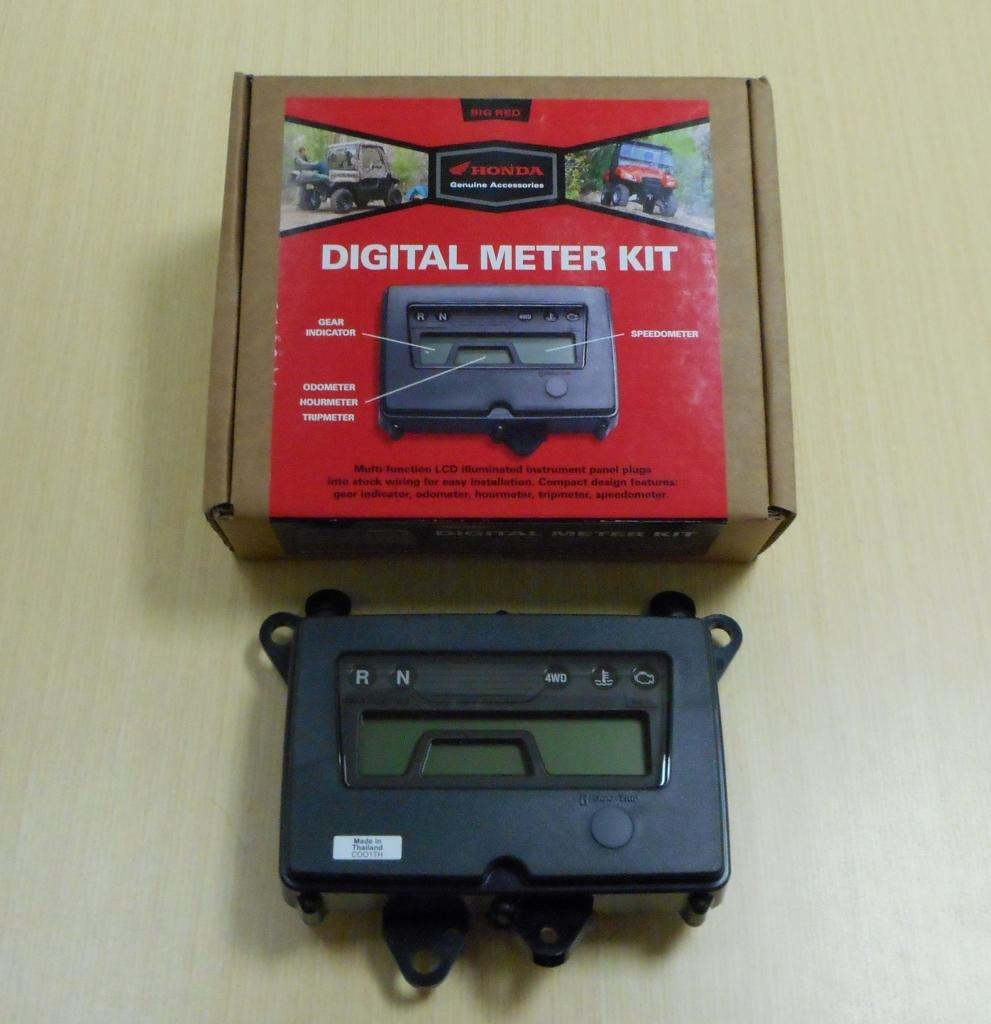 Amazon.com: New 2009-2013 Honda Big Red MUV 700 UTV OE Digital Meter Kit  Speedometer: Automotive