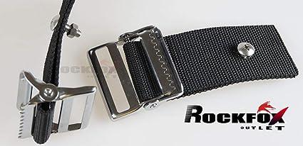 Amazon.com: RockFox Outlet Universal SS - Hebilla para bolsa ...